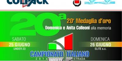 Campionato Italiano Under 23 ed Elite 2016:il 9 giugno la presentazione all'Abbazia di San Paolo d'Argon