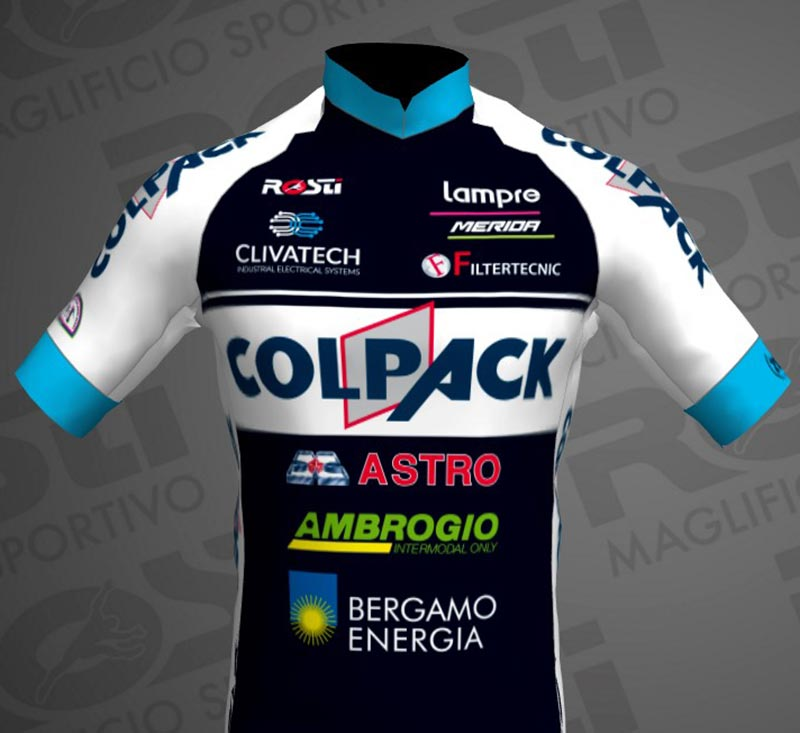 Maglia Ufficiale Team Colpack