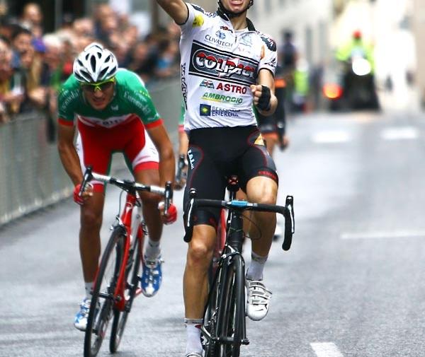 Giulio Ciccone e la Colpack in trionfo anche a San Daniele
