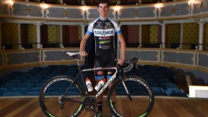 Edward Ravasi sfiora il successo di tappa al Tour de l'Avenir