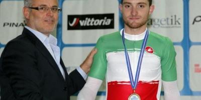 Simone Consonni campione italiano dello Scratch