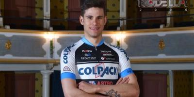 Team Colpack è subito festa: Filippo Ganna vince in Croazia
