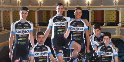 Team Colpack, è l'ora del debutto in Italia