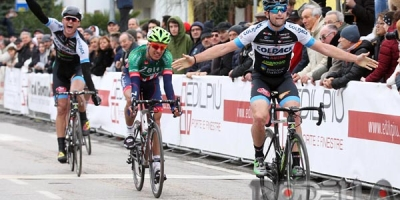 Riccardo Minali vince la volata a San Bernardino di Lugo