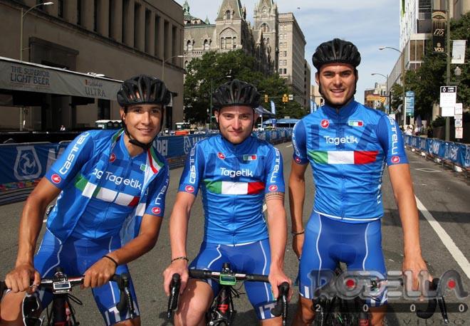 Forza Azzurri! Consonni, Martinelli e Troia stasera nella prova Mondiale
