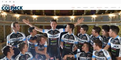 Teamcolpack.it, nuovo sito per festeggiare la prima vittoria 2016