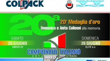 Campionato Italiano Under 23 ed Elite 2016: lavori in corso