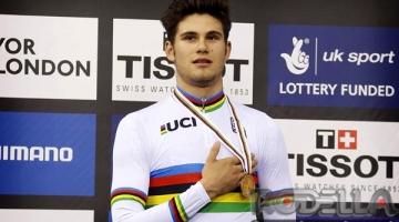 Filippo Ganna campione del mondo dell'Inseguimento