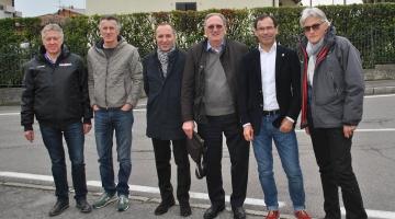 Campionato Italiano Under 23 ed Elite 2016: sopralluogo dei CT Cassani e Amadori