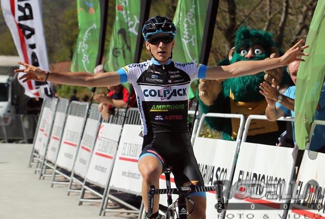 Tripletta show della Colpack alla Vuelta al Bidasoa:1° Ravasi, 2° Orsini e 3° Padun