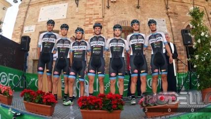 Team Colpack all'assalto delle pietre della Parigi-Roubaix Under 23