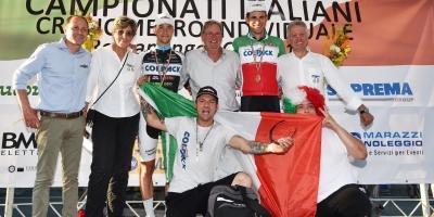 Team Colpack regina della cronometro:Filippo Ganna e Mark Padun campioni nazionali