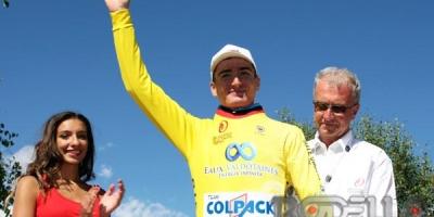 Mark Padun difende il primato al Giro Valle d'Aosta