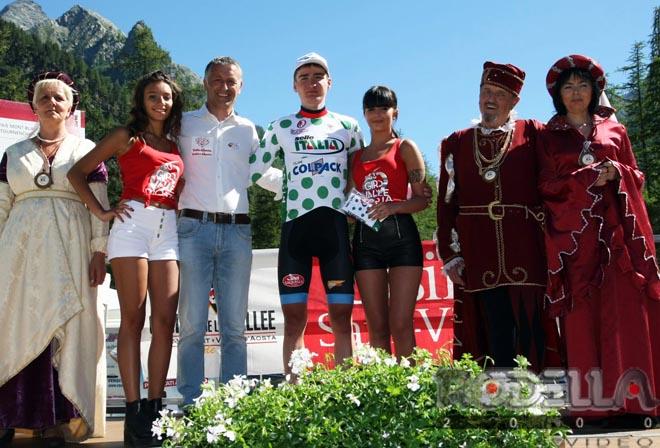 Padun perde il primato al Giro Valle d'Aosta, ma è protagonista