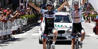 Ravasi-Padun, la doppietta Colpack chiude il Giro Valle d'Aosta