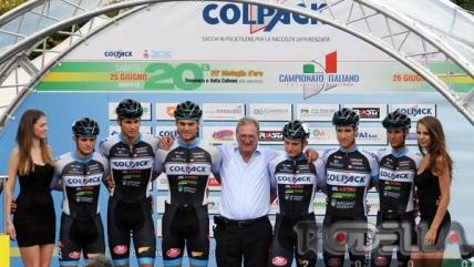 Team Colpack: in direzione Giro Valle d'Aosta ed Europei Pista