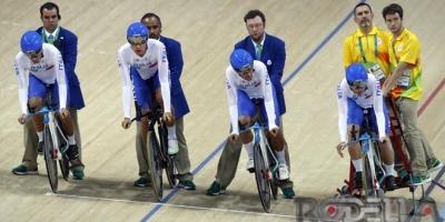 Rio 2016: Consonni, Ganna e Lamon si qualificano con il 5° tempo.Stasera possono giocarsi la medaglia di bronzo