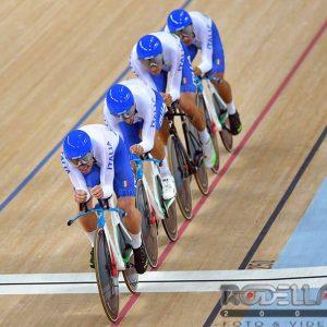 RIO DE JANEIRO (BRASILE) – Finale Olimpiade Inseguimento a squadre
