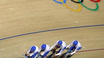 Rio 2016: Consonni, Ganna e Lamon che bravi! Sesti con record italiano