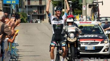 Filippo Zaccanti vince la Pessano Roncola, con Orsini 2°.