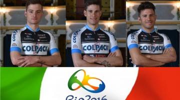 Il Team Colpack vola alle Olimpiadi con Consonni, Ganna e Lamon