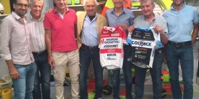 Fausto Masnada professionista con l'Androni:il completamento di un percorso e la gioia del Team Colpack