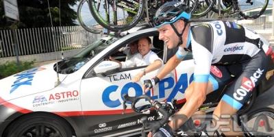 "Davide Orrico firma l'ultimo diario e dice ""Grazie Team Colpack!"""