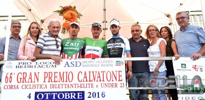 Il tricolore Simone Consonni vince in volata a Calvatone