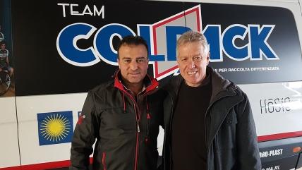 L'ex prof Ivan Quaranta entra nello staff del Team Colpack: seguirà la preparazione di pistard e velocisti