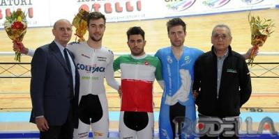 Francesco Lamon campione italiano della Corsa a punti
