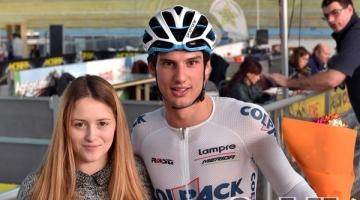 Andrea Toniatti terzo nell'Omnium al Trofeo Amica Chips