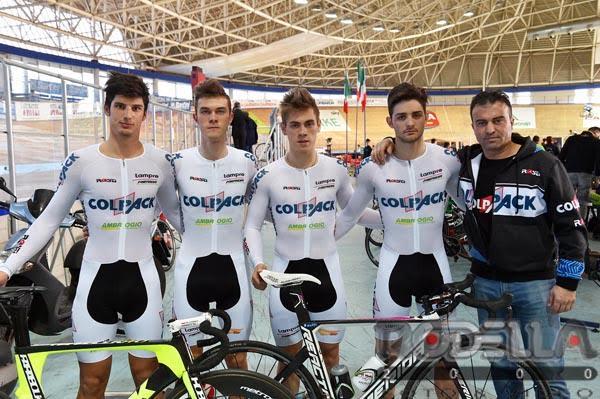 Trofeo Santini: Toniatti sul podio dell'Omnium a Montichiari