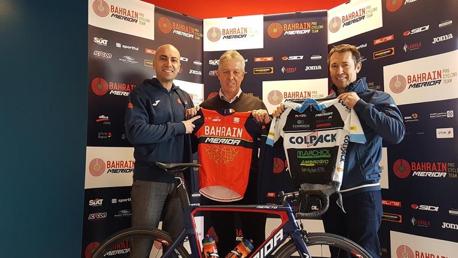 Il Team Colpack sarà il vivaio della Bahrain Merida di Vincenzo Nibali