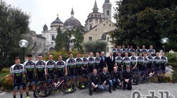 Team Colpack: fatte le foto ufficiali è l'ora del debutto in Croazia