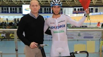 Nicolas Dalla Valle vince la Corsa a punti a Montichiari