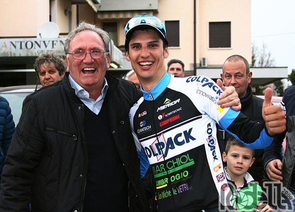 Guerzoni e Team Colpack insieme anche nel 2018