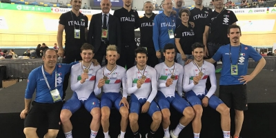 Il bronzo di Lamon ai Mondiali su pista e i programmi gara per il ponte di Pasqua