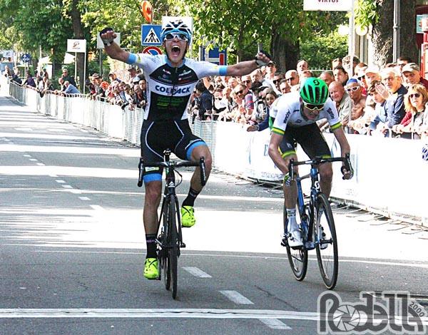 Marco Negrente, vittoria favolosa al Trofeo Edil C di Collecchio