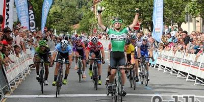 Vuelta al Bidasoa: Team Colpack ancora sul podio con Matteo Sobrero