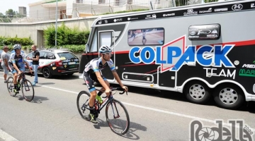 Team Colpack pronto al weekend Tricolore