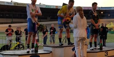 Francesco Lamon secondo nell'Omnium del GP Brno Track Cycling