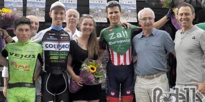 Filippo Zaccanti vola in salita e vince la Schio Ossario del Pasubio