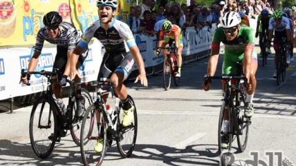 Carboni vince il Giro del Veneto, Sartor l'ultima tappa. Assolo di Oldani a Ponton
