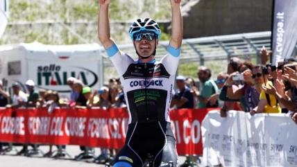 Finalmente Fedeli! Il veronese della Colpack vince l'ultima tappa del Giro Valle d'Aosta