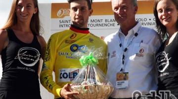 Giovanni Carboni resta leader del Giro Valle d'Aosta