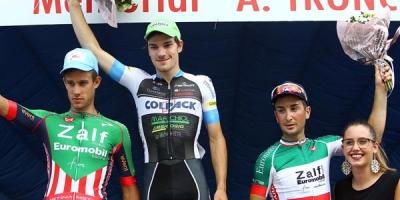 Attilio Viviani e il Team Colpack esultano a Gambellara