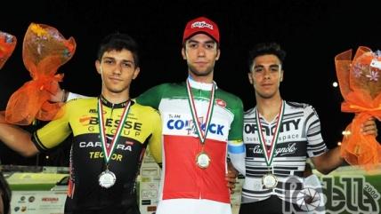 Nicolas Dalla Valle è campione italiano Corsa a punti U23. Enrico Zanoncello argento della Velocità