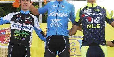 Giovanni Carboni primo leader del Giro del Veneto