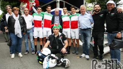 Il Team Colpack è campione italiano della cronosquadre Under 23