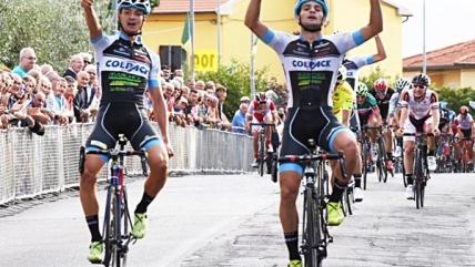 Sartor-Covi: doppietta del Team Colpack alla Coppa Ciuffenna
